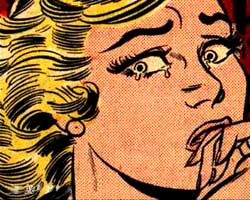 Crying Girl de Roy Lichtenstein